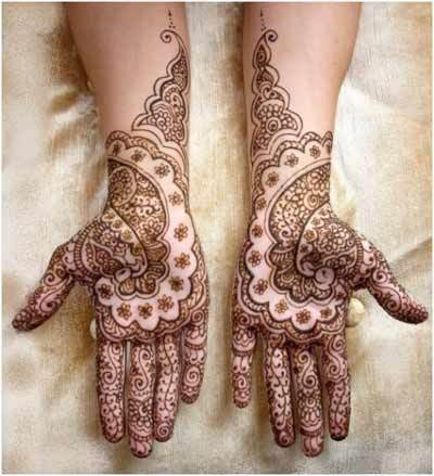 Indian Mehndi Designs 1