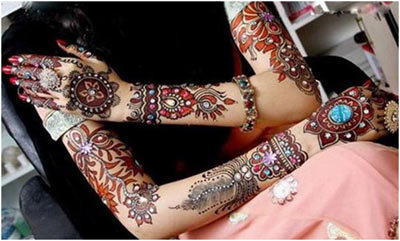 Indian Mehndi Designs 14