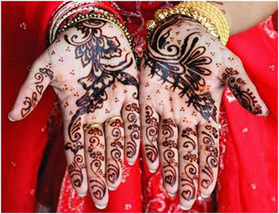 Indian Mehndi Designs 16