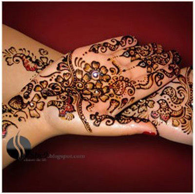 Indian Mehndi Designs 19