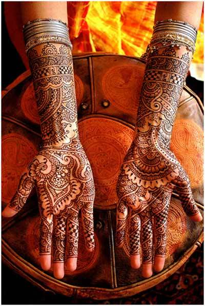 Indian Mehndi Designs 4