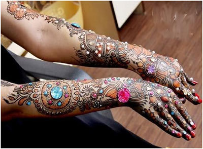 Indian Mehndi Designs 8