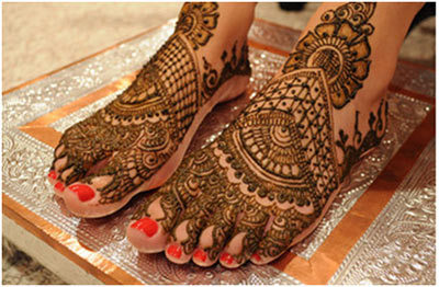 Indian Mehndi Designs 9