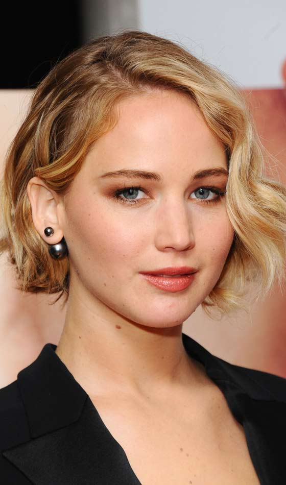Jennifer Lawrence's Tousled Short Bob