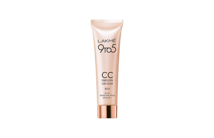 Lakme CC Cream - Best Lakme Makeup Product