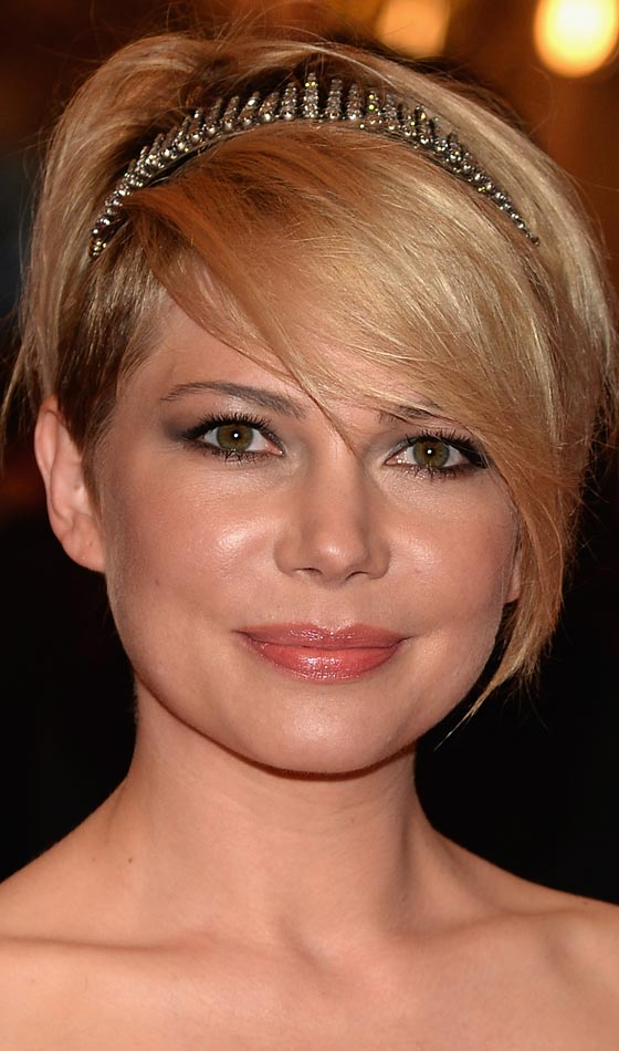 Pixie with Sleek Side Swept Bangs