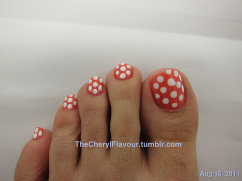 Nail Art Designs Feet Hession Hairdressing