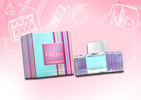 Best Antonio Banderas Perfumes - blue fresh seduction for women