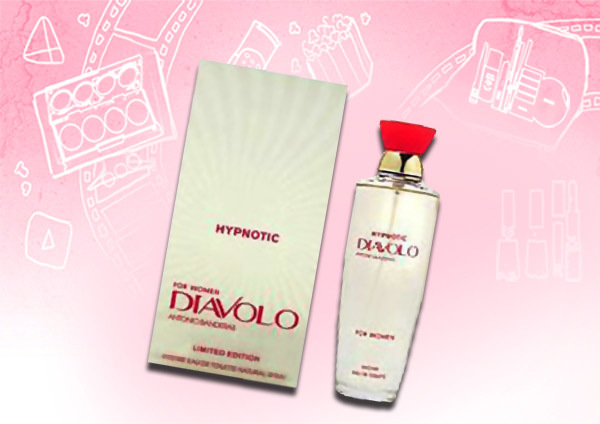 Best Antonio Banderas Perfumes - diavolo hypnotic perfume for women