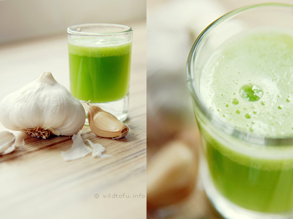 garlic juice for weight loss