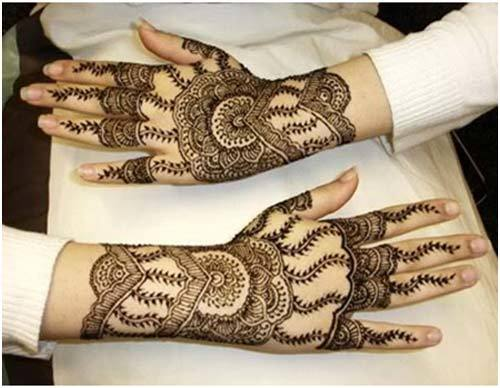 mehndi eid design for hands