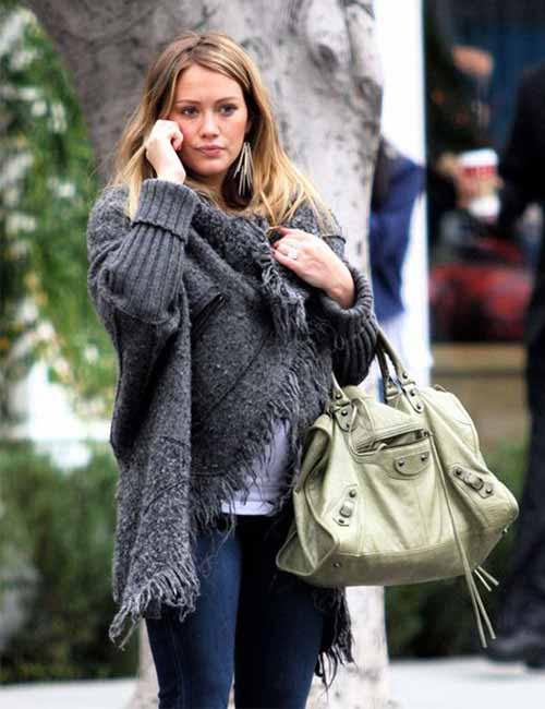 Pregnant Celebrities - Hilary Duff