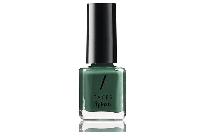 14. Faces Splash Nail Enamel, Tropical Green 59
