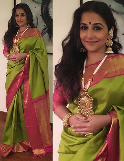 21. Vidya Balan - Most Beautiful Woman in India