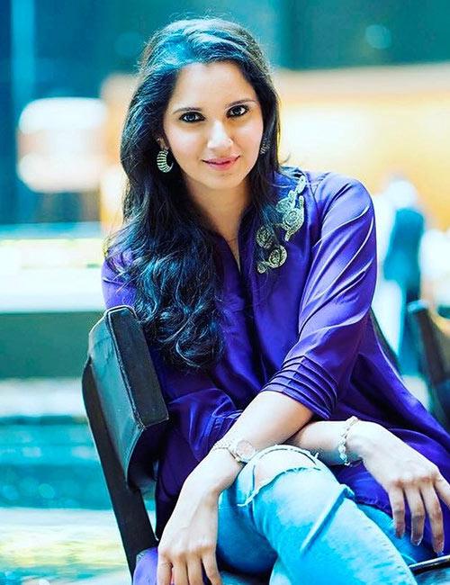 28. Sania Mirza - Beautiful Indian Woman