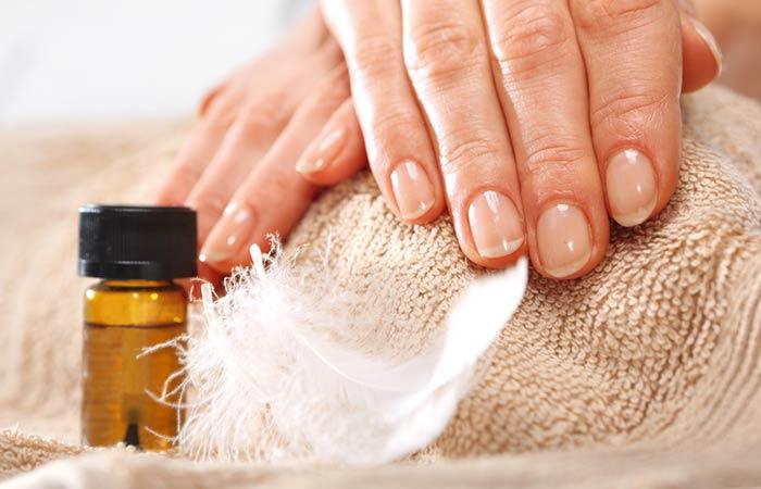 Tea Tree Oil - Strengthens Nails