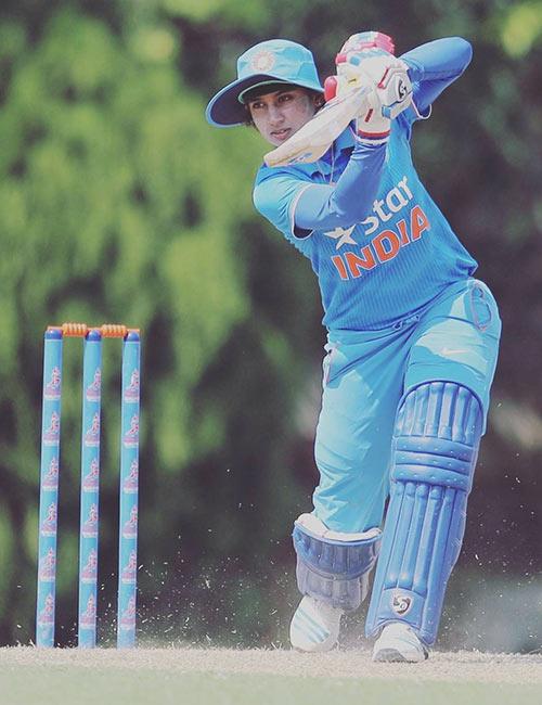 30. Mithali Raj - Beautiful Indian Women in Cricket