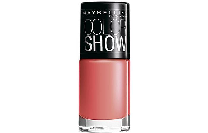 7. Maybelline Color Show Nail Enamel, Coral Craze