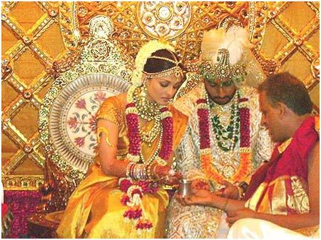 Aishwarya Rai's Bridal Look