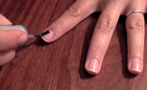 How To Do French Manicure - Apply Your Base Coat
