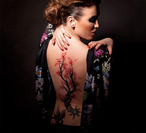 Blossoms Tattoo
