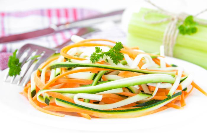 The 1000 Calorie Diet Recipe - Delicious Vegan Ribbons Salad
