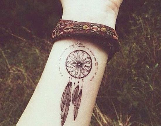Dream Catchers Tattoo