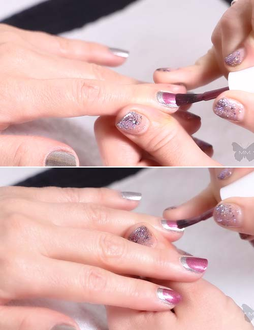 How To Do French Manicure - Glam It Up