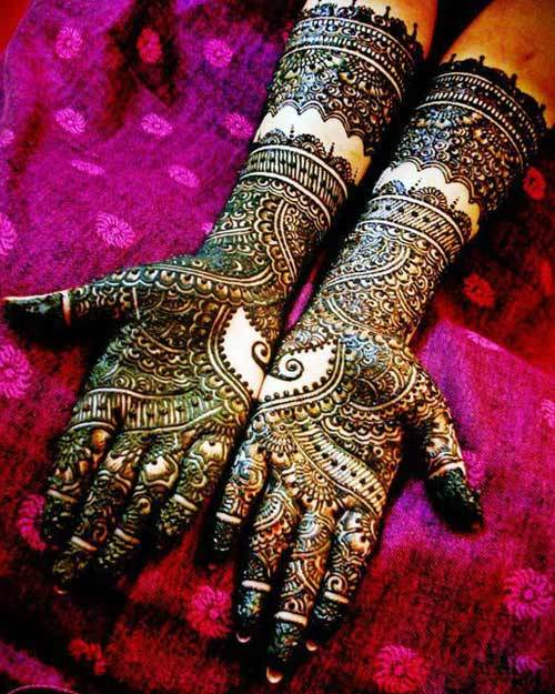 Latest Beautiful Bridal Mehndi Designs