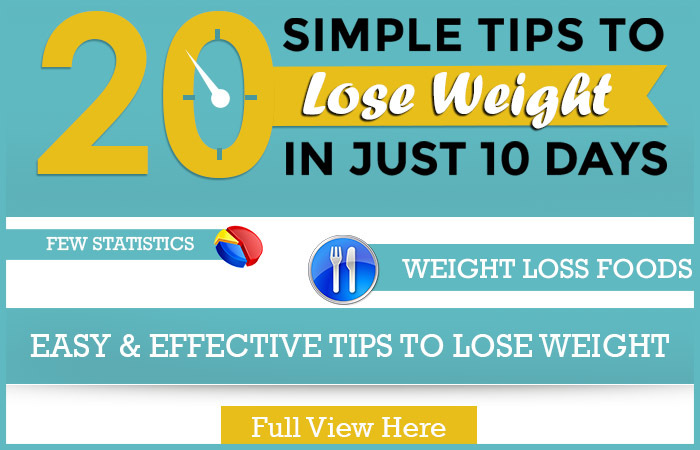 Simple tips to lose weight in just 10 days lose weight in just ccuart Images