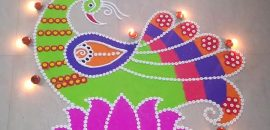 Peacock-Rangoli-Designs