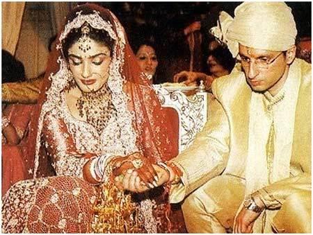 Raveena Tandon's Wedding Look