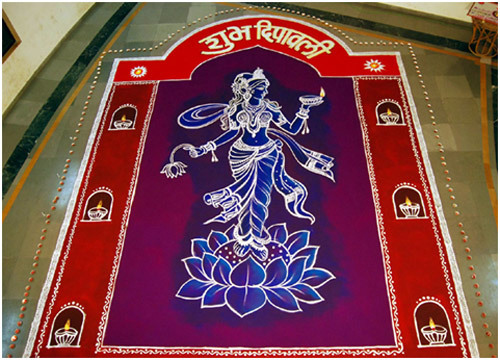 rangoli designs for diwali simple designs