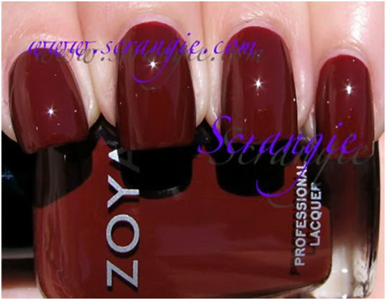 zoya cola nail polish