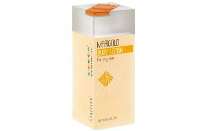 Best Body Lotions For Dry Skin - The Nature's Co Marigold Body Lotion
