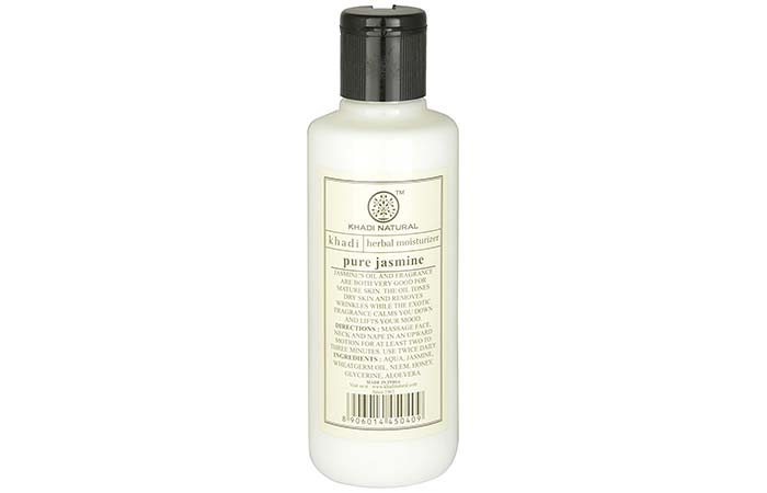 Best Body Lotions For Dry Skin - Khadi Natural Pure Jasmine Moisturizing Lotion