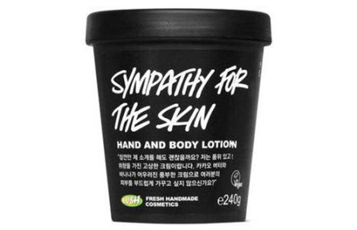 Best Body Lotions For Dry Skin - Lush Cosmetics Sympathy For The Skin Body Lotion