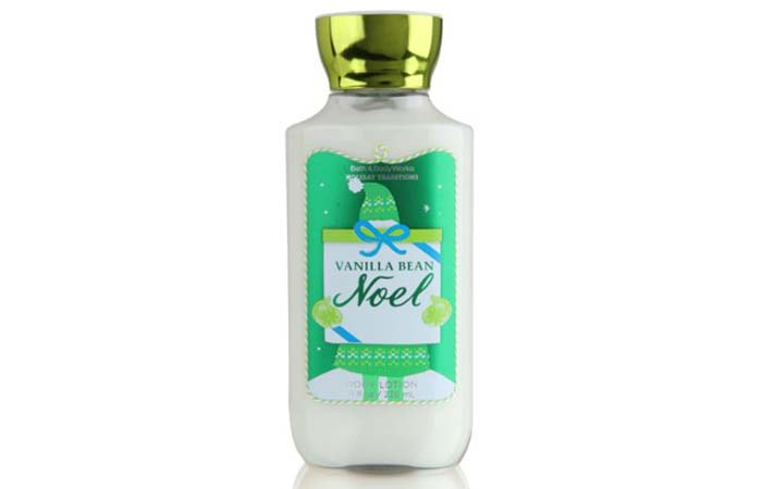 Best Body Lotions For Dry Skin - Bath And Body Works Vanilla Bean Noel Body Lotion