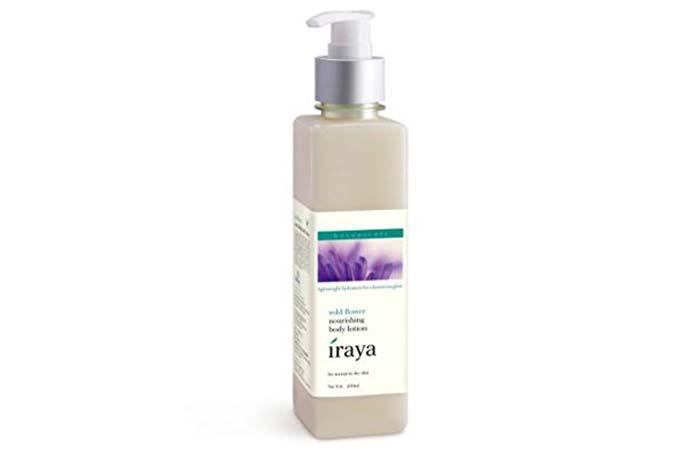 Best Body Lotions For Dry Skin - Iraya Wild Flower Nourishing Body Lotion