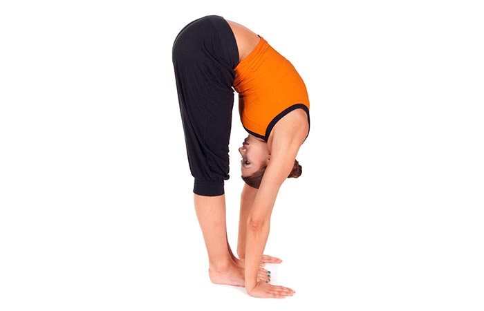Stretching And Exercise - Forward Bend