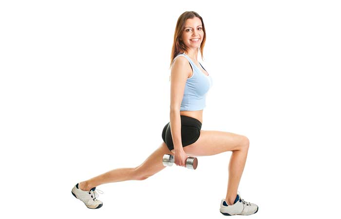 Exercises For Slim Thighs - Lunges