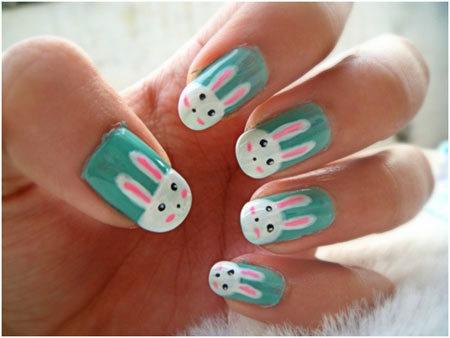 bunny rabbit nails