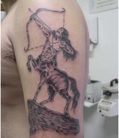 centaur tattoo art