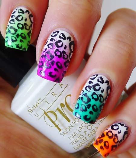 leopard print nails design Pinit - 50 Animal Themed Nail Art Designs To Inspire You
