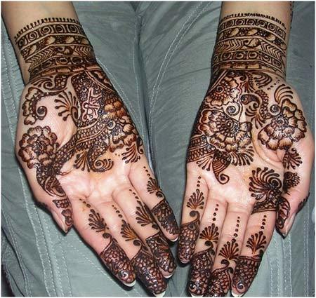 mehndi designs for hands simple and easy