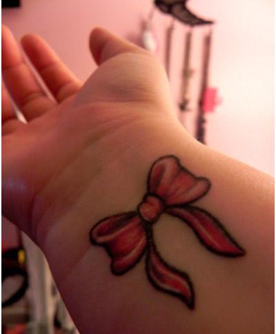 ribbons tattoo designs