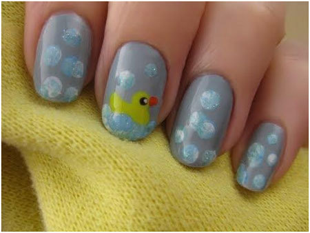 rubber duck nails