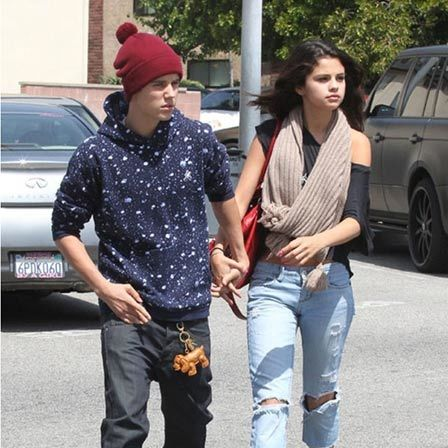 selena with justin