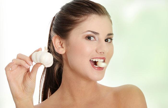 Foods For Healthy Skin - Garlic