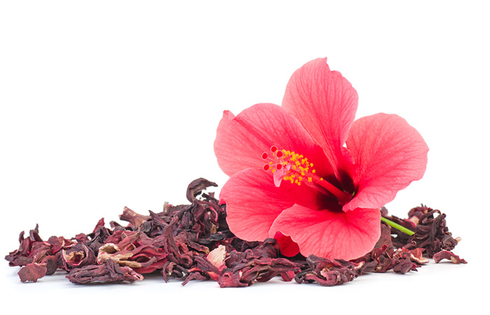 12. Indian Gooseberry And Hibiscus Flower For White Hair